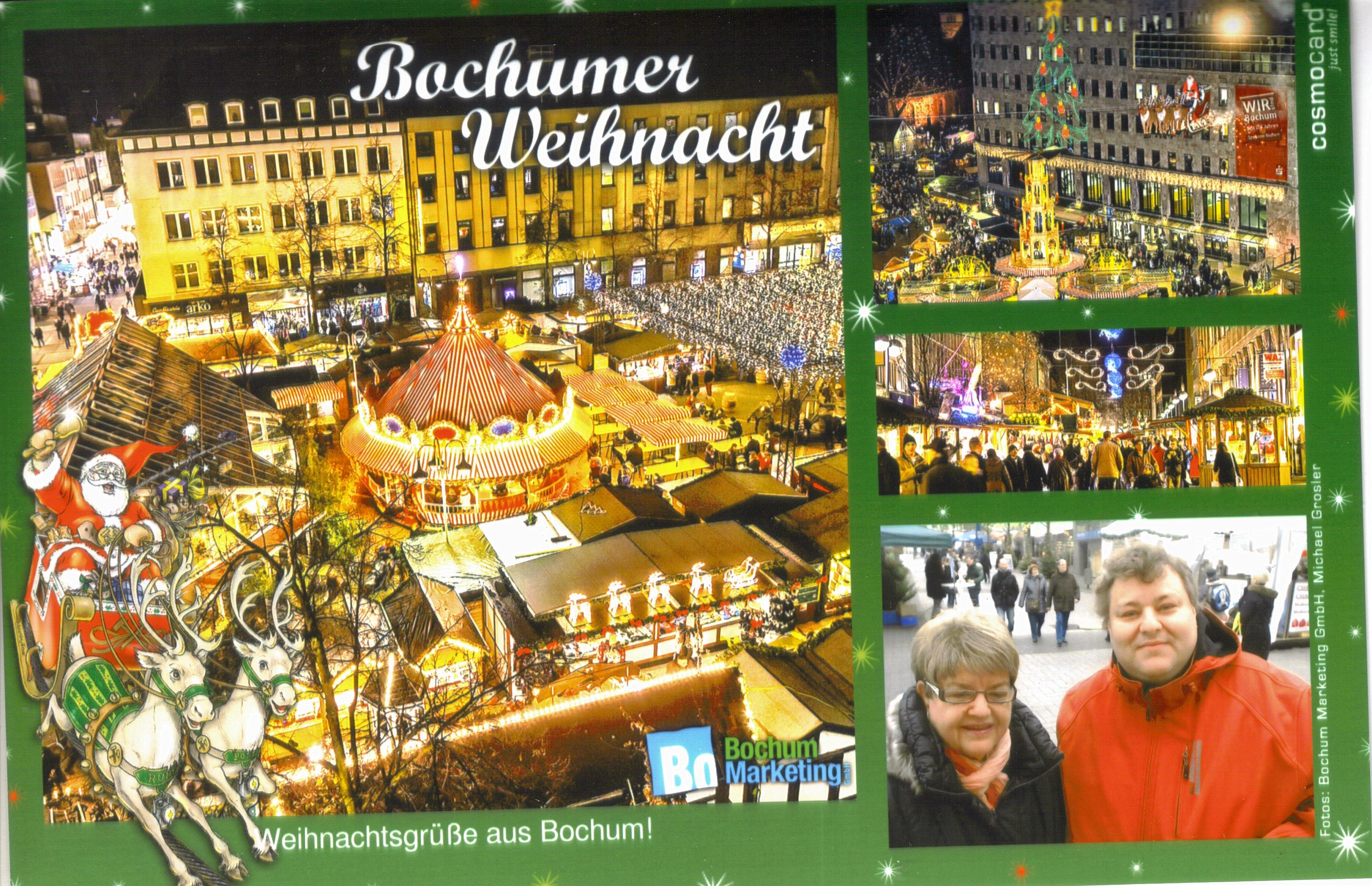 Bochumer weihnacht - Personalisierte weihnachtskarten ...